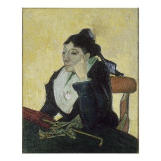 L'Arlesienne Madame Ginoux by Vincent Van Gogh Poster