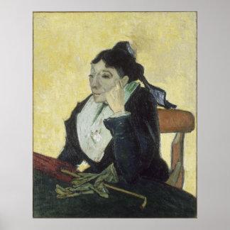 L'Arlesienne: Madame Ginoux by Vincent Van Gogh Poster