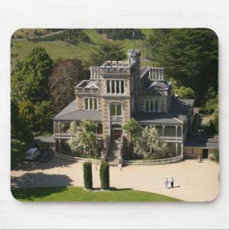 Larnach Castle, Dunedin, New Zealand - aerial Mouse Pad