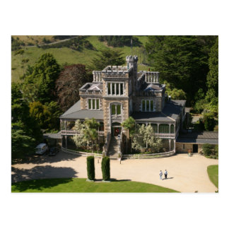 Larnach Castle, Dunedin, New Zealand - aerial Postcard