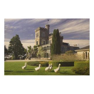 Larnach Castle, Otago Peninsula, Dunedin, Wood Prints