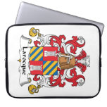 Larocque Family Crest Laptop Computer Sleeves