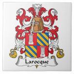Larocque Family Crest Tiles