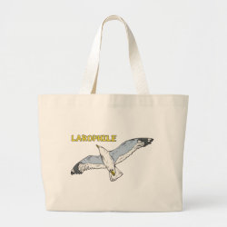 Jumbo Tote Bag with Larophile design