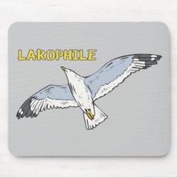 Mousepad with Larophile design