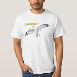 Men's Crew Value T-Shirt with Larophile design