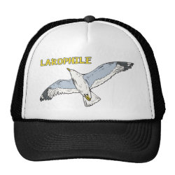 Trucker Hat with Larophile design