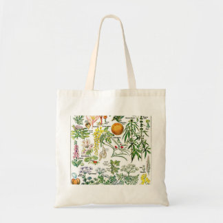 Larousse Dangerous Plants II Painting Tote Bag