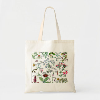 Larousse Digestive Plants Painting Tote Bag