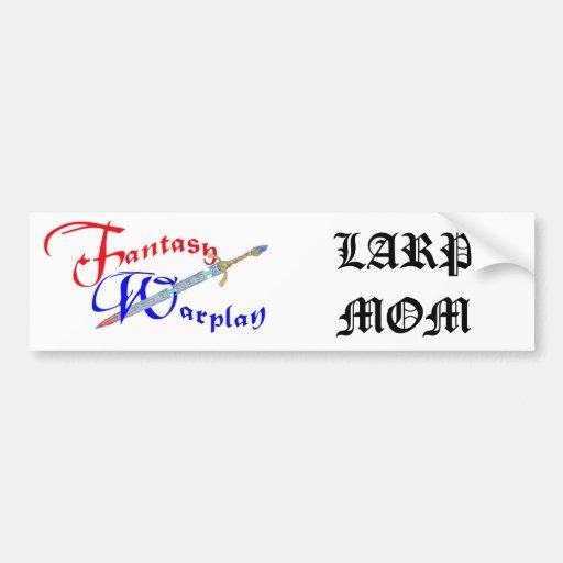 LARP Mom Bumber Sticker