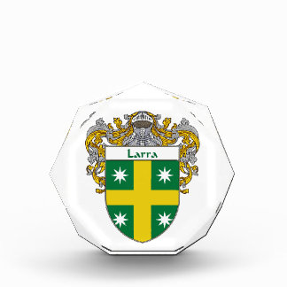 Larra Coat of Arms Family Crest Awards