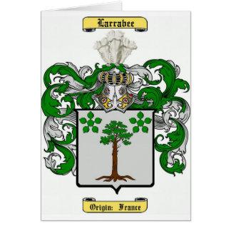Larrabee Tarjeta De Felicitación