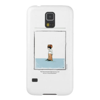 LARRY cartoon by Ellen Elliott Case For Galaxy S5