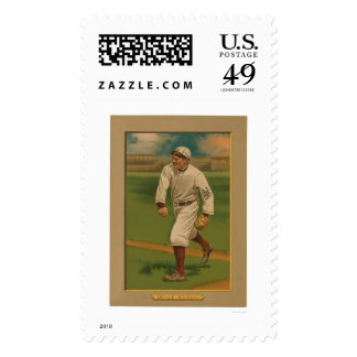 Larry Doyle Giants Baseball 1911 Stamp