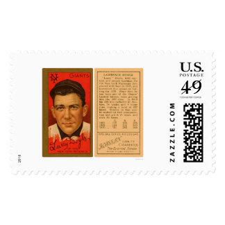 Larry Doyle Giants Baseball 1911 Postage Stamp