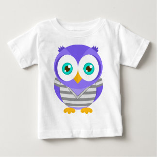 Larry el búho púrpura (original) camisetas