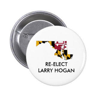 Larry Hogan for Maryland Governor Button