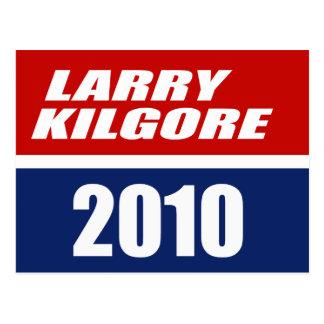 LARRY KILGORE PARA EL GOBERNADOR POSTAL