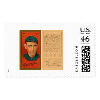 Larry McLean Reds Baseball 1911 Postage Stamps