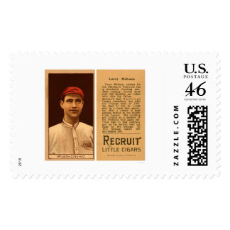 Larry McLean Reds Baseball 1912 Postage Stamps