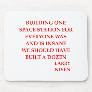 larry niven quote mouse pad