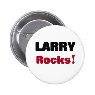 Larry Rocks Pinback Button