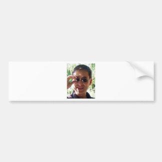 Larry Rosen with Sunglasses Bumper Sticker