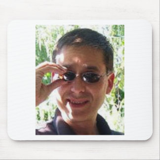 Larry Rosen with Sunglasses Mouse Pad