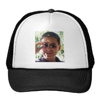 Larry Rosen with Sunglasses Trucker Hat
