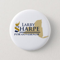 Larry Sharpe for Governor Button