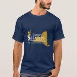 """Larry Sharpe T-Shirt<br><div class=""""desc"""">Larry Sharpe Men&#39;s Navy T-Shirt</div>"""