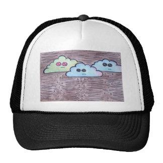 Larry the Albino Cloud Trucker Hat
