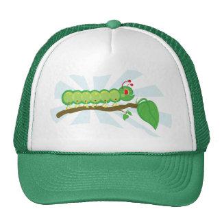 Larry the Caterpillar Character Trucker Hat