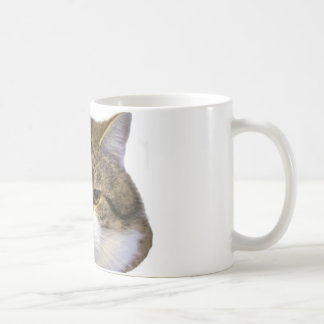 Larry the Downing Street Cat Face Coffee Mug