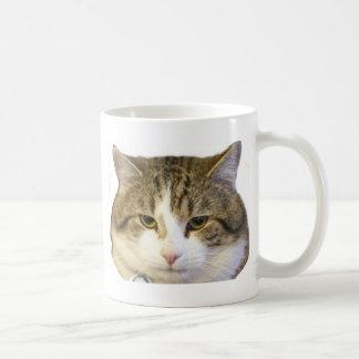 Larry the Downing Street Cat Face Coffee Mug