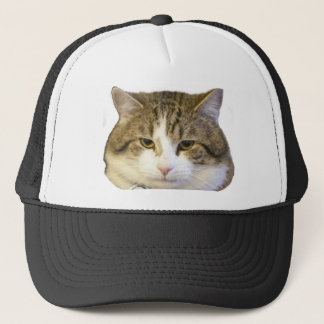 Larry the Downing Street Cat Face Trucker Hat