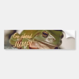 Larry the Laconic Tree Frog Bumper Stickers