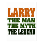 LARRY - the Man, the Myth, the Legend Post Card