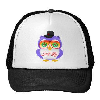 Larry the Owl (Love Me) Trucker Hat