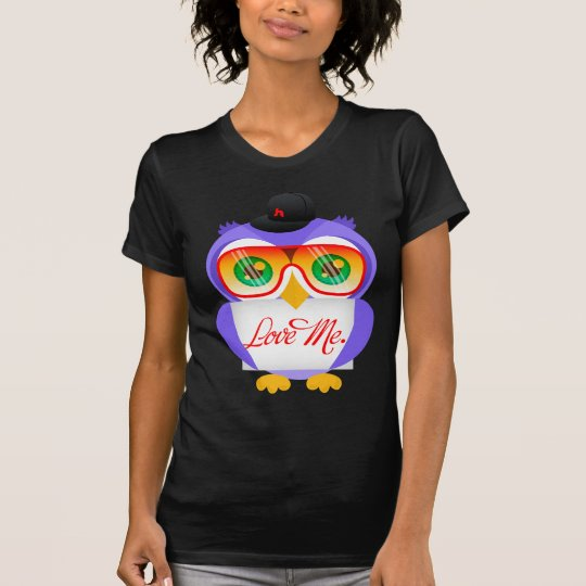 Larry the Owl (Love Me) T-Shirt