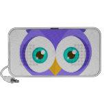 Larry the Purple Owl (Original) iPhone Speaker