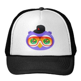 Larry the Purple Owl (Shades Version) Trucker Hat