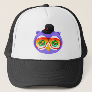Larry the Purple Owl (Shades Version) Trucker Hat