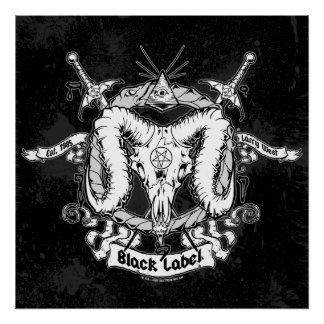 Larry West s Black Label Posters