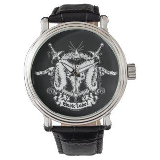 Larry West's Black Label Wristwatches