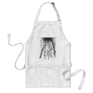 Larry's b/w adult apron