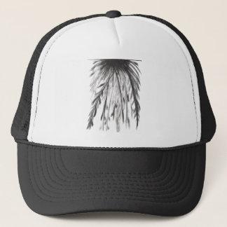 Larry's b/w trucker hat