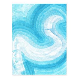 larry's blueflow postcard