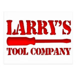 Larry's Tool Company Postcard