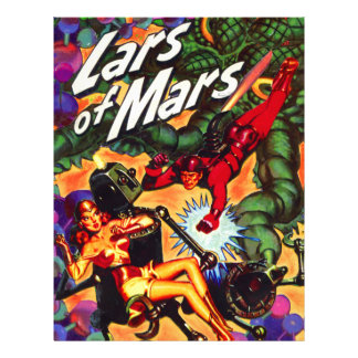 Lars of Mars Anthology Letterhead